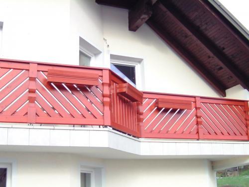 Balkonske ograje (moderni stil) (4)