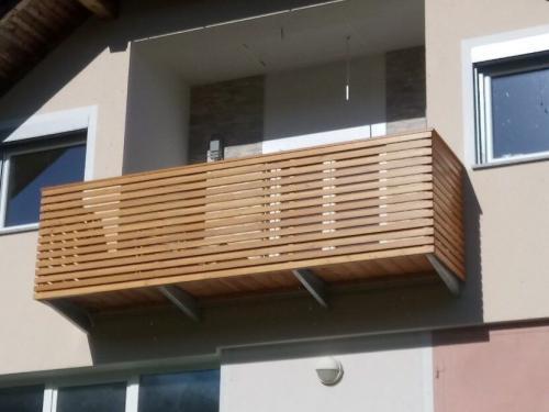 Balkonske ograje (moderni stil) (20) sibirski macesen