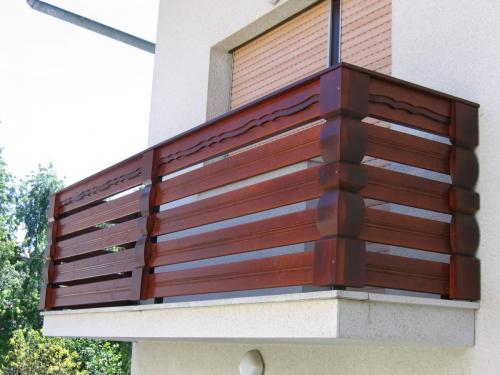 Balkonske ograje (vzdolžni stil) (1)