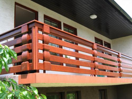 Balkonske ograje (vzdolžni stil) (2)
