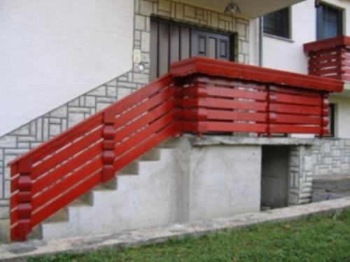 Balkonske ograje (vzdolžni stil) (6)